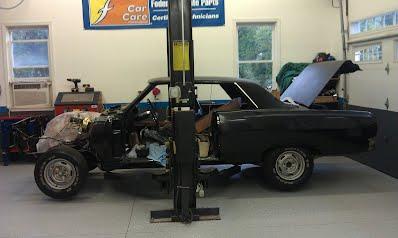 64 Coupe Restoration